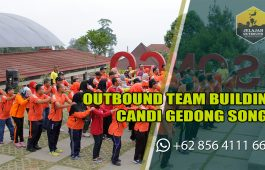 team building candi gedong songo