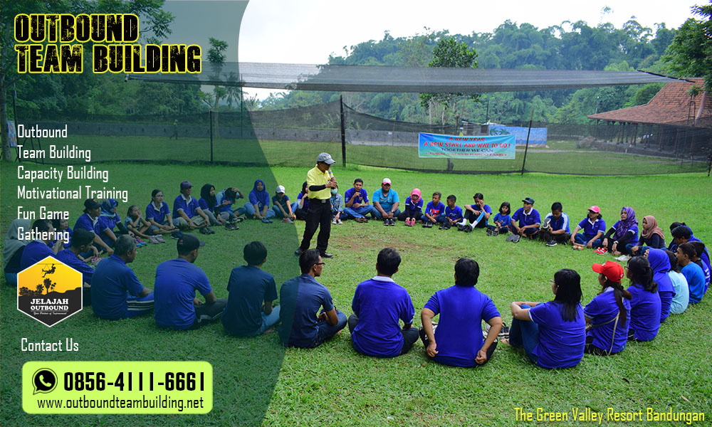 outbound team building bandungan