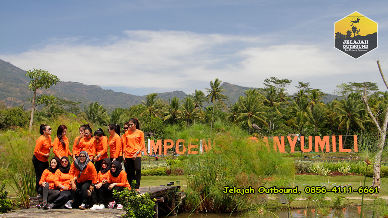 jasa outbound kampoeng banyumili